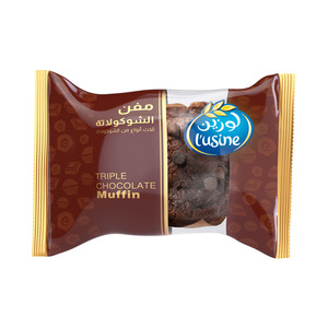 Lusine Triple Chocolate Muffin 60g