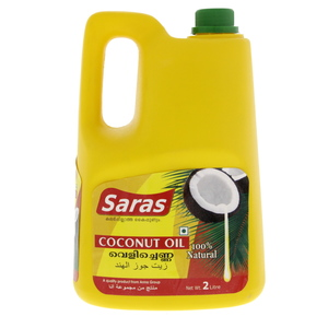 Saras Coconut Oil 2Litre