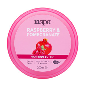 NSPA Rich Body Butter Raspberry & Pomegranate 200ml