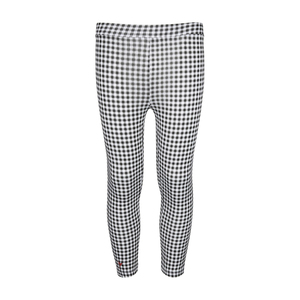 Eten Girls Black Check Jegging Pant 10-16Y