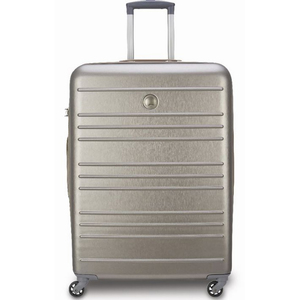 Delsey Carlit 4 Wheel Hard Trolley 66cm Gold