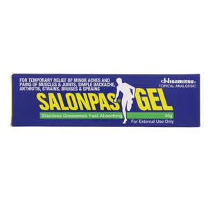 Salonpas topical Analgesic Gel 30g