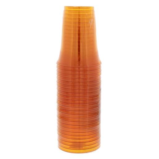 Buy Fun Coloured Plastic Cup Orange 25pcs - Cups & Glasses