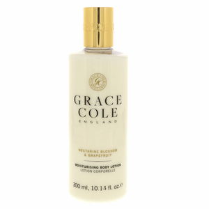 Grace Cole Moisturising Body Lotion Nectarine Blossom And Grapefruit 300ml