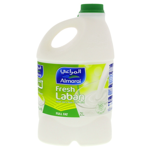 Al Marai Fresh Laban Full Fat 2Litre