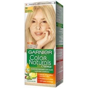 Garnier Color Naturals 10 Ultra Light Blonde Hair Color 1 Packet