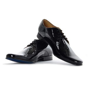 Arrow Men's Formal Shoes ASFW0030A Patent Black