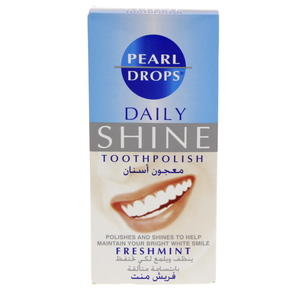 Pearl Drops Daily Shine Tooth Polish Freshmint 50ml
