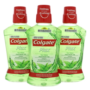 Colgate Plax Tea Fresh Mouth Wash 3 x 500ml