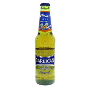 Barbican Pineapple Non Alcoholic Malt Beverage 330ml