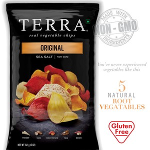 Terra Vegetable Chips Sea Salt Original 141g