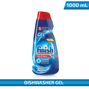 Finish Concentrate Gel Dishwasher Regular 1Litre