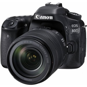 Canon DSLR Camera EOS 80D 18-135mm Lens