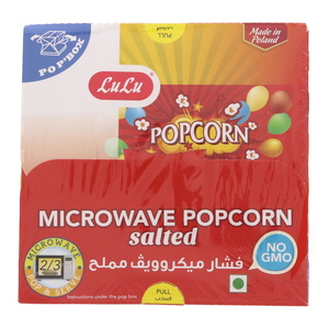 Lulu Microwave Popcorn With Salted 100g