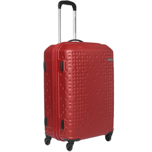 American Tourister Cruze 4 Wheel Hard Trolley 80cm Red