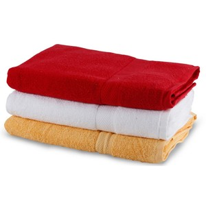 Homewell Bath Towel Cotton 75x140cm Assorted  1Pc