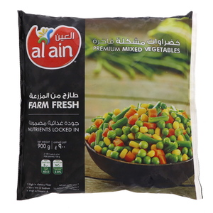 Al Ain Mixed Vegetables 900g