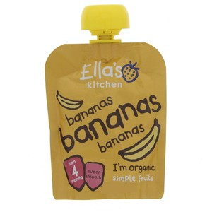 Ella's Kitchen Organic Bananas 70g