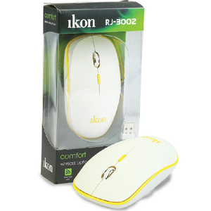 Ikon Wireless Optical Mouse IKRJ3002