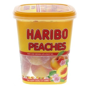 Haribo Jelly Peaches 175g