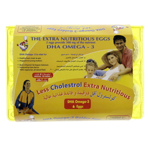 Golden Eggs DHA Omega 3 6pcs