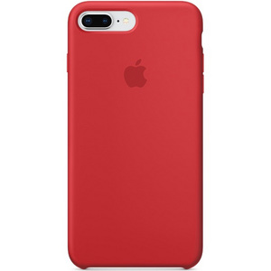 Apple iPhone 8 Plus Silicone Case Red