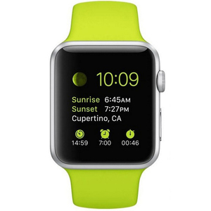 Apple Watch Sport MJ2U2 38mm With Green Band