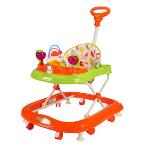 First Step Baby Walker 8027 Orange