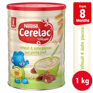Nestle Cerelac Wheat & Date Pieces 1kg