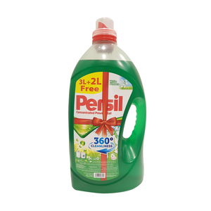 Persil Concentrated Power Gel White Flowers 3Litre + 2Litre Free