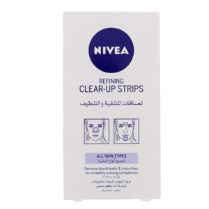 Nivea Refining Clear-Up Strips All Skin Types 6 Sachets