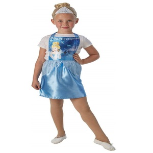 Disney Cinderella Party Costume (Pinafore & Tiara) 34170 Size 3-6Y