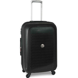 Delsey Tasman 4 Wheel Hard Trolley 68cm Black