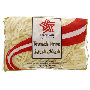 Dat-Schaub French Fries 2.5kg