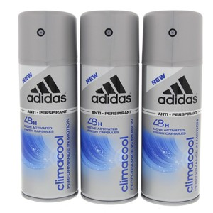 Adidas Deo Body Spray Climacool 150ml x 3pcs