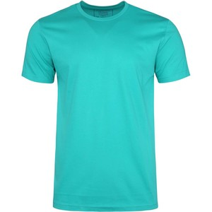 De Backers Men's Round-Neck Organic Cotton T-Shirt Summer Green