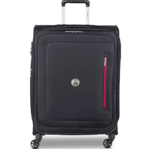 Delsey Oural 4 Wheel Soft Trolley 78cm Black