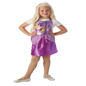 Disney Rapunzel Party Costume (Pinafore & Tiara) 34168 Size 3-6Y