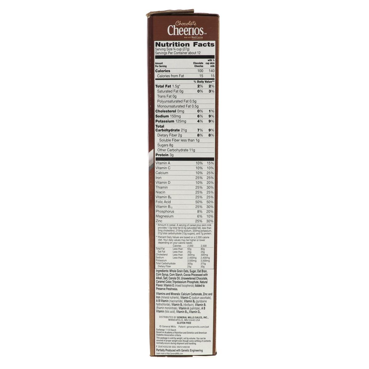 General Mills Chocolate Cheerios 318g