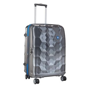 VIP Fairway 4Wheel Hard Trolley 55cm Silver