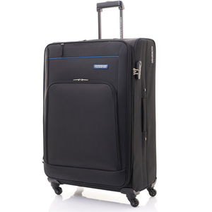 American Tourister Brook 4Wheel Soft Trolley 80cm Black