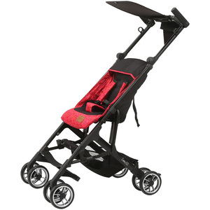 First Step Microfoldable Baby Stroller 1603 Red