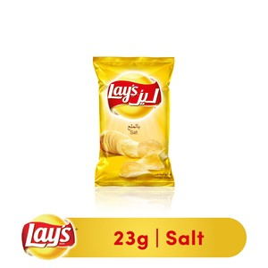 LaysSalted Potato Chips 23g