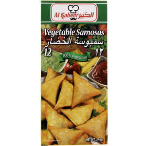 Al Kabeer Vegetable Samosas 240g