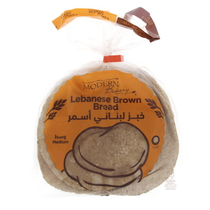 Modern Bakery Lebanese Bread Brown Medium Size 4pcs