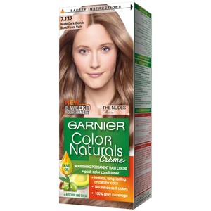 Garnier Color Natural Nudes Kit 7.132 Nude Dark Blonde Hair Color 1 Packet
