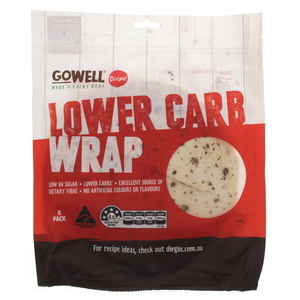Diegos Gowell Lower Carb Wrap 400g