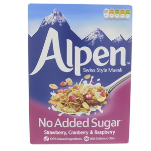 Alpen Strawberry, Cranberry and Raspberry Swiss style Muesli 560g