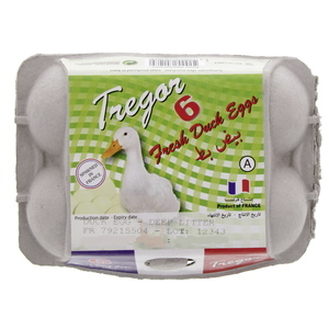 Tregor Fresh Duck Eggs 6pcs