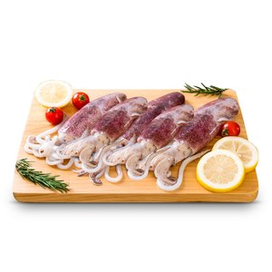 Fresh Squid Small 500g Approx. Weight